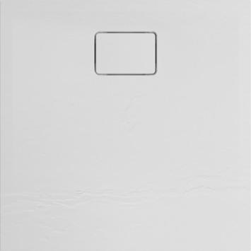 Allibert Terreno douchebak 80x80cm Kwartz wit