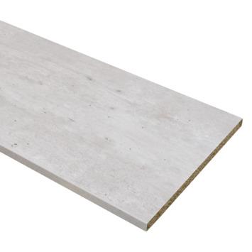 Meubelpaneel ABS 2-zijdig beton 240x60 cm 18 mm