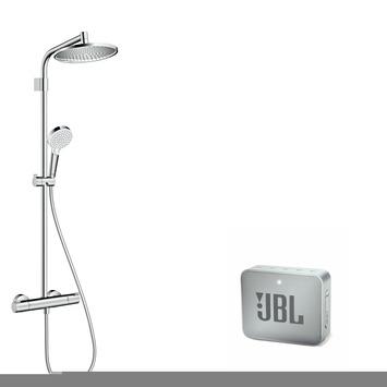 Hansgrohe regendouche Crometta S240 met thermostatische kraan incl. gratis JBL Speaker
