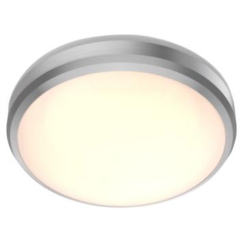 Philips badkamer LED  plafondlamp Doris 1x6W 2700K nikkel