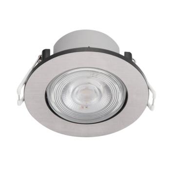 Philips inbouwspot LED Taragon 1x4.5W nikkel 2700K