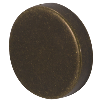 CanDo eindkapOud Brons Ø45MM