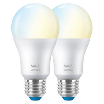 WiZ Connected LED peer E27 60W 2 stuks mat koel tot warmwit licht dimbaar