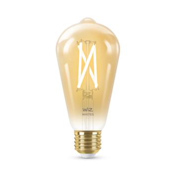 WiZ Connected LED edison E27 50W filament gold koel tot warmwit licht dimbaar