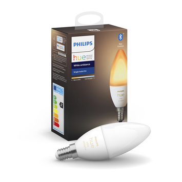 Philips Hue White Ambiance E14 lamp incl. bluetooth