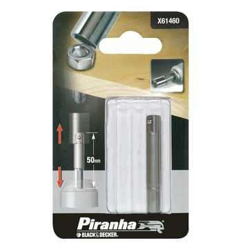 Piranha adapter voor dopsleutels 50 mm X61460-XJ