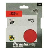 Piranha Velcro steunschijf 125 mm X32021-XJ