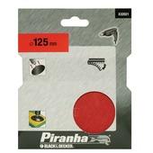 Piranha Velcro steunschijf 125 mm X32021-XJ