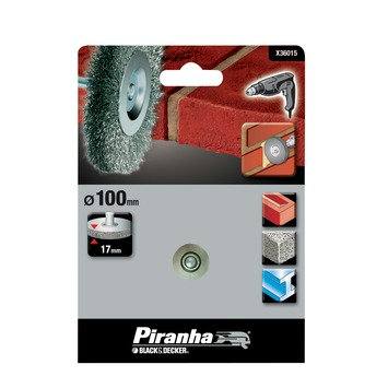 Piranha staaldraadborstel 100X20 mm X36015-XJ