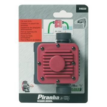 Piranha vloeistofpomp 3/4 inch aansluiting X40220-XJ