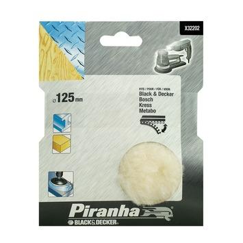 Piranha polijstschijf lamsvacht hout metaal 125 mm X32202-XJ