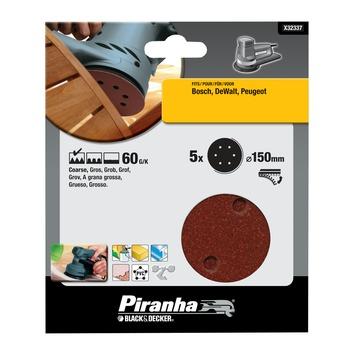Piranha schuurschijf K60 150 mm 5 stuks X32337-XJ