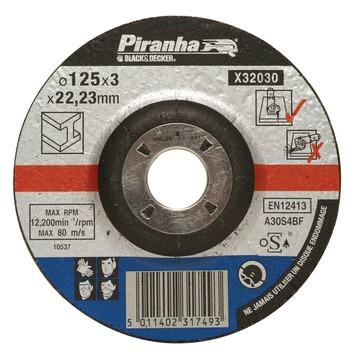 Piranha doorslijpschijf metaal 125x3,2 mm 6 stuks X32030A-QN