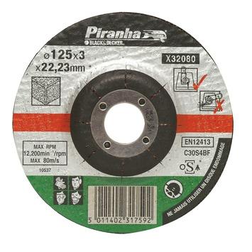 Piranha doorslijpschijf steen 125x3,2 mm 6 stuks X32080A-QN