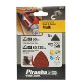Piranha schuurstrokenset 5 stuks X31512-XJ