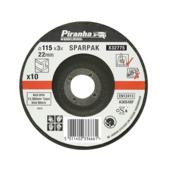Piranha doorslijpschijf metaal 115x3,2 mm 10 stuks X32775-QZ
