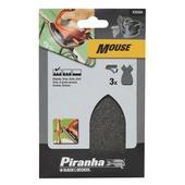 Piranha staalwolstrook grof Mouse X32204-XJ
