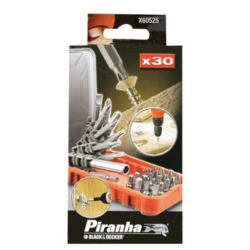 Piranha bitwaaierset 30-delig X60525-XJ