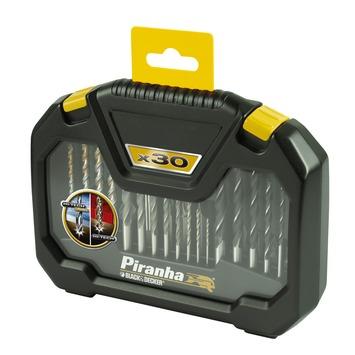 Piranha HI-TECH boren en bitset 30-delig X88102-XJ