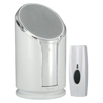 Voorkeur GAMMA | Byron draadloze deurbel met flitslicht BY301 wit kopen? | XB77