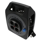 GAMMA kabelbox vinyl zwart 3x1 mm 20 meter