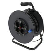 GAMMA kabelhaspel vinyl zwart 3x1 mm 40 meter