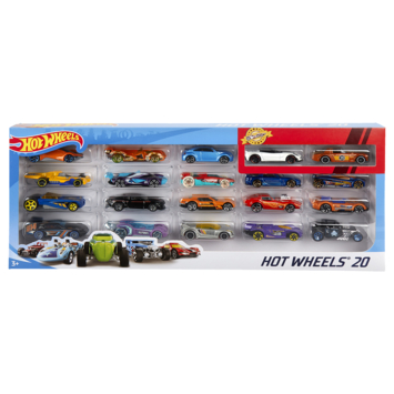 Hot Wheels set 20 auto's