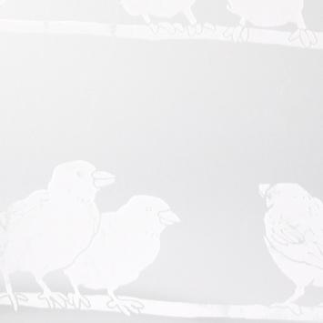 Premium statische glasfolie Filippa 334-0020 45x150 cm