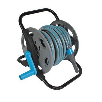 Bekend GAMMA   GAMMA wandhaspel met slang en accessoires grijs blauw 15 LO04