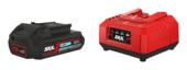 SKIL 20V starterset accu 2,0Ah + snellader / acculader 3116AA