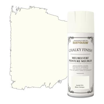 Rust-Oleum meubelverf spuitbus antiek wit 400 ml