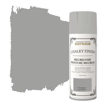 Rust-Oleum meubelverf spuitbus wintergrijs 400 ml
