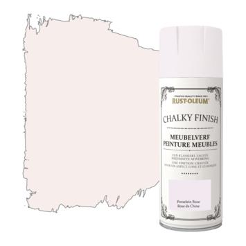 Rust-Oleum meubelverf spuitbus porselein roze 400 ml