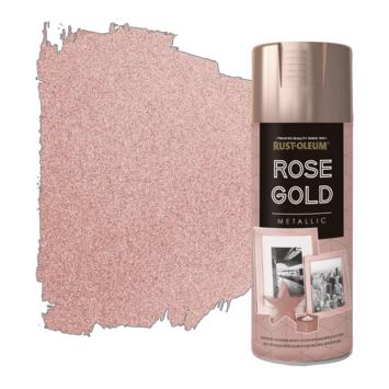 Rust-Oleum meubelverf spuitbus rose gold 400 ml