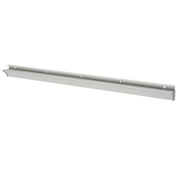 Duraline plankdrager rail aluminium look 80 cm