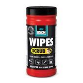 Bison Wipes Scrub reinigingsdoek 40 stuks