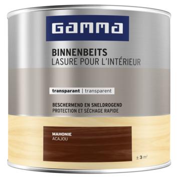 GAMMA binnenbeits transparant 250 ml mahonie