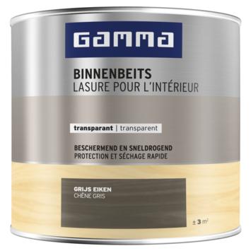 GAMMA binnenbeits transparant 250 ml grijs eiken