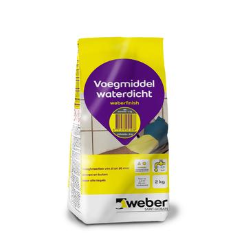 Weber Wand & Vloer voegmiddel antraciet 2 kg