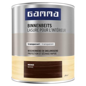 GAMMA binnenbeits transparant 750 ml wengé