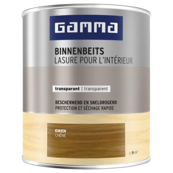 GAMMA binnenbeits transparant 750 ml eiken