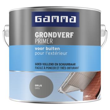 GAMMA grondverf buiten 2,5 liter grijs