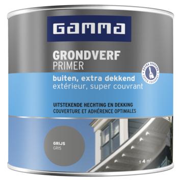 GAMMA grondverf buiten extra dekkend 250 ml grijs
