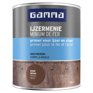 GAMMA Menie grondverf 750 ml roodbruin