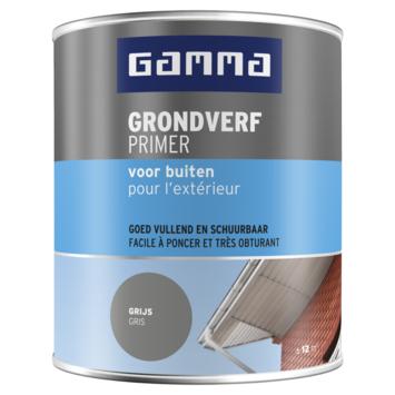 GAMMA grondverf buiten 750 ml grijs
