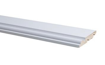 Plint Model Engels Wit 1,4 x 7,5 x 240 cm
