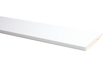 Plint Model Recht Wit 1,4 x 12 x 240 cm