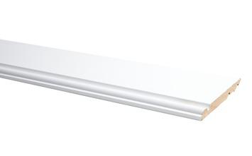 Plint Model Engels Wit 1,4 x 12 x 240 cm