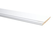 Plint model Engels wit 120x14 mm, 240 cm