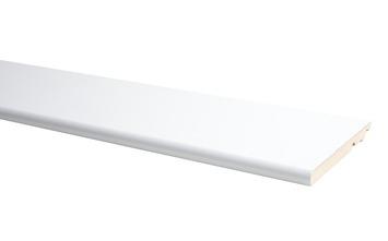 Plint Model Rond Wit 1,4 x 12 x 240 cm